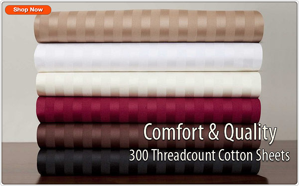 300 threadcount cotton sheets