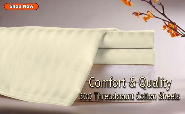 cozy comfortable high threadcount sheets