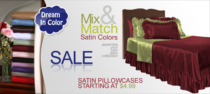 Silk & Satin Bedding