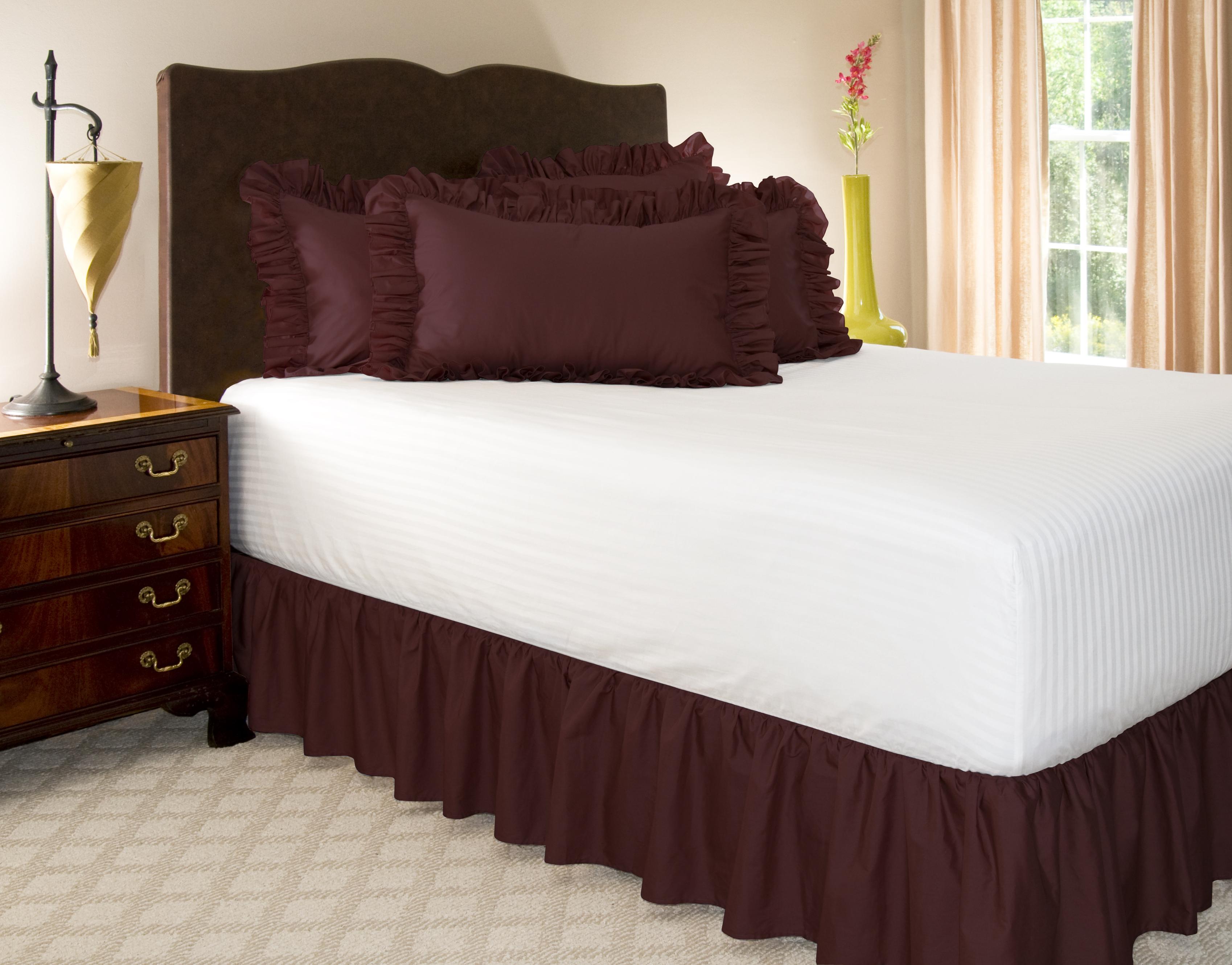 Queen Size Bed Skirt  Drop