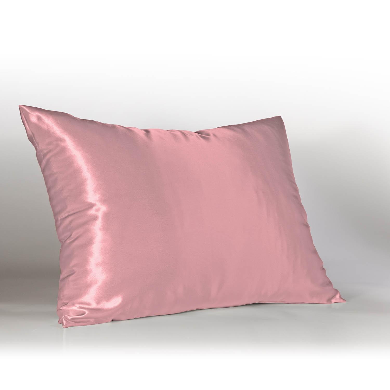 Satin Pillowcase W Hidden Zipper
