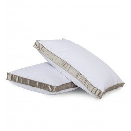 "Gavotte Home Enchanted Luxe Down Alternative Side Sleeper Pillow with 2"" Gusset"