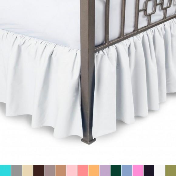 Split Corner Bed Skirt Shopbedding Com