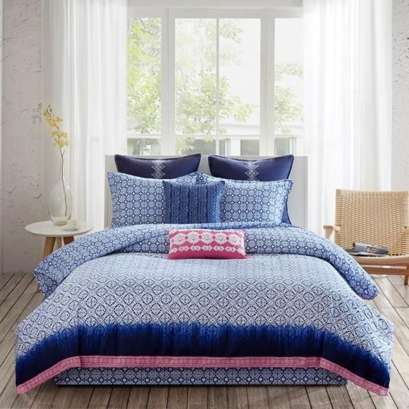 Echo Design Shibori Reversible Comforter Set Shopbedding Com