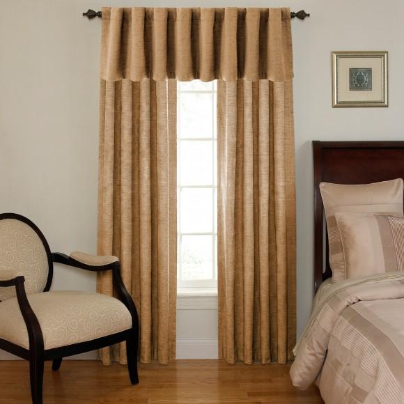 Waverly Sound Asleep Room Darkening Curtain Panel and Valance