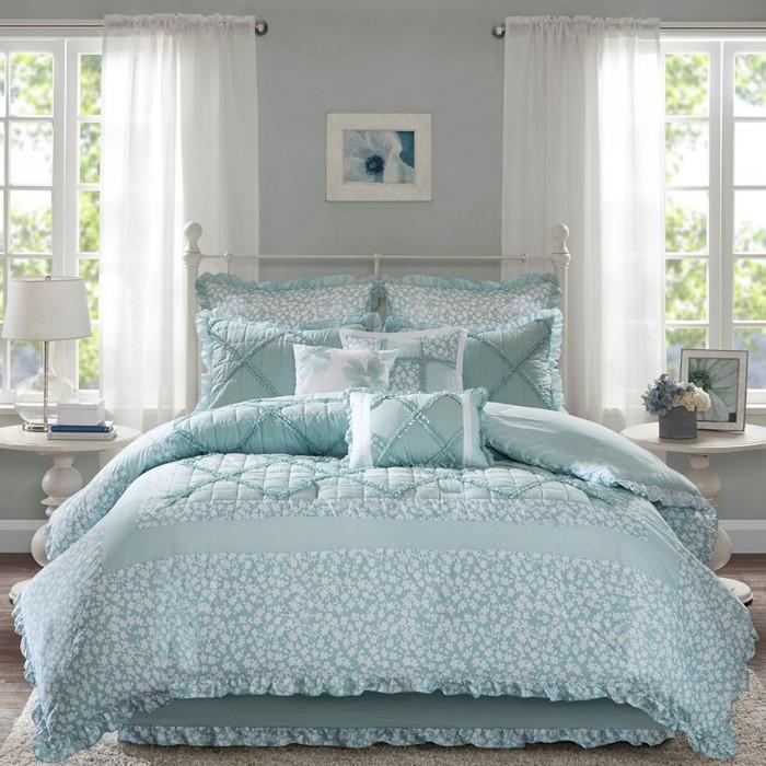 madison duvet com lavine soft amazon pieces bag bedding cal ultra size vine in bed fretwork blue set comforter king park sets jacquard a dp microfiber