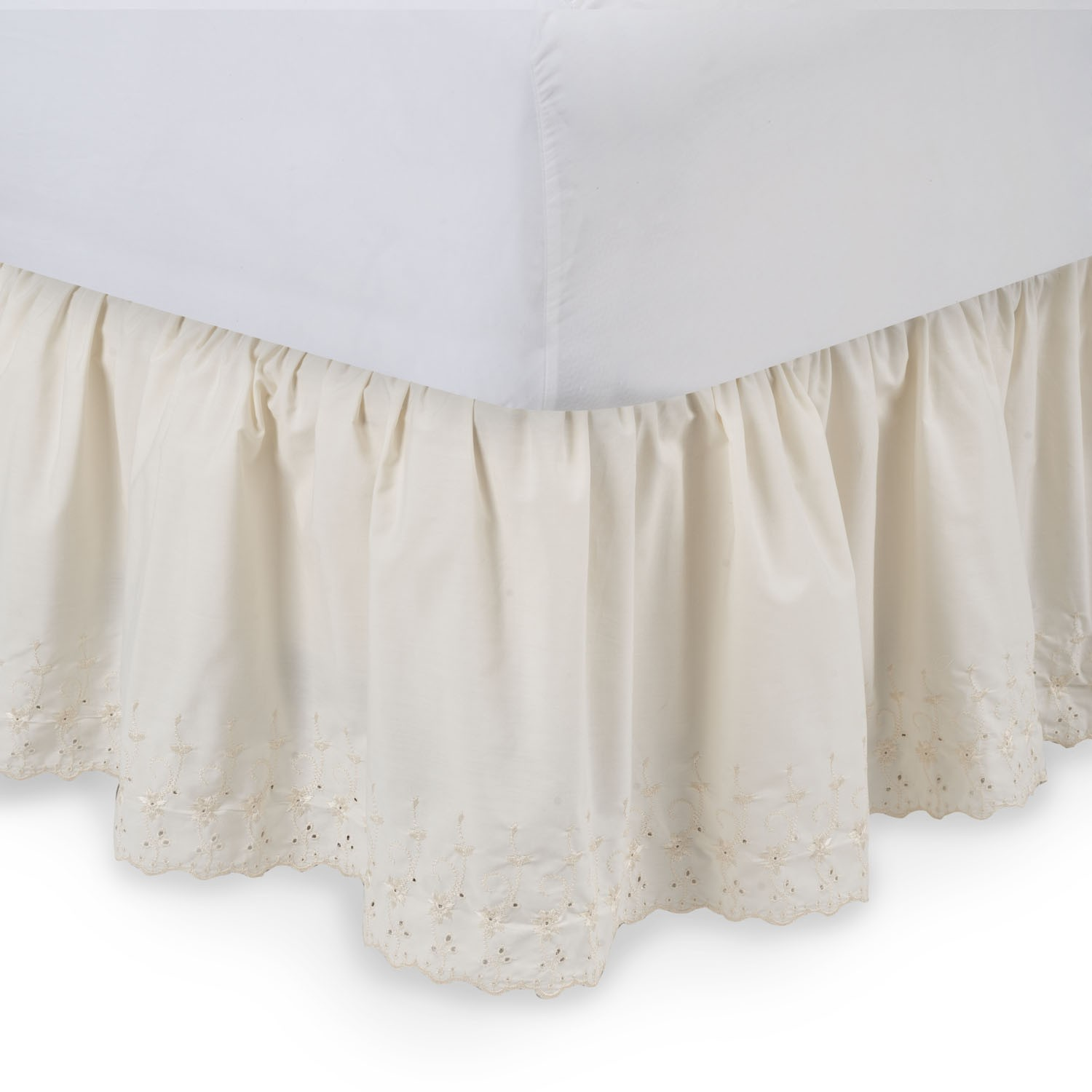 bed p fringed expand tailored king to opulence bedskirt skirts click