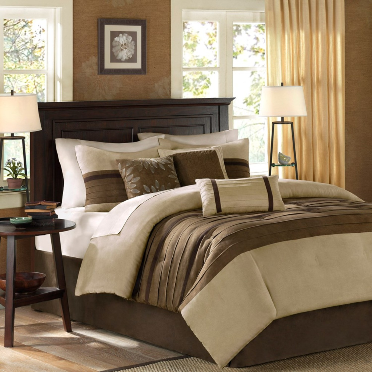 brand set browning lowest ebay new embroidered p s comforter suede price buckmark
