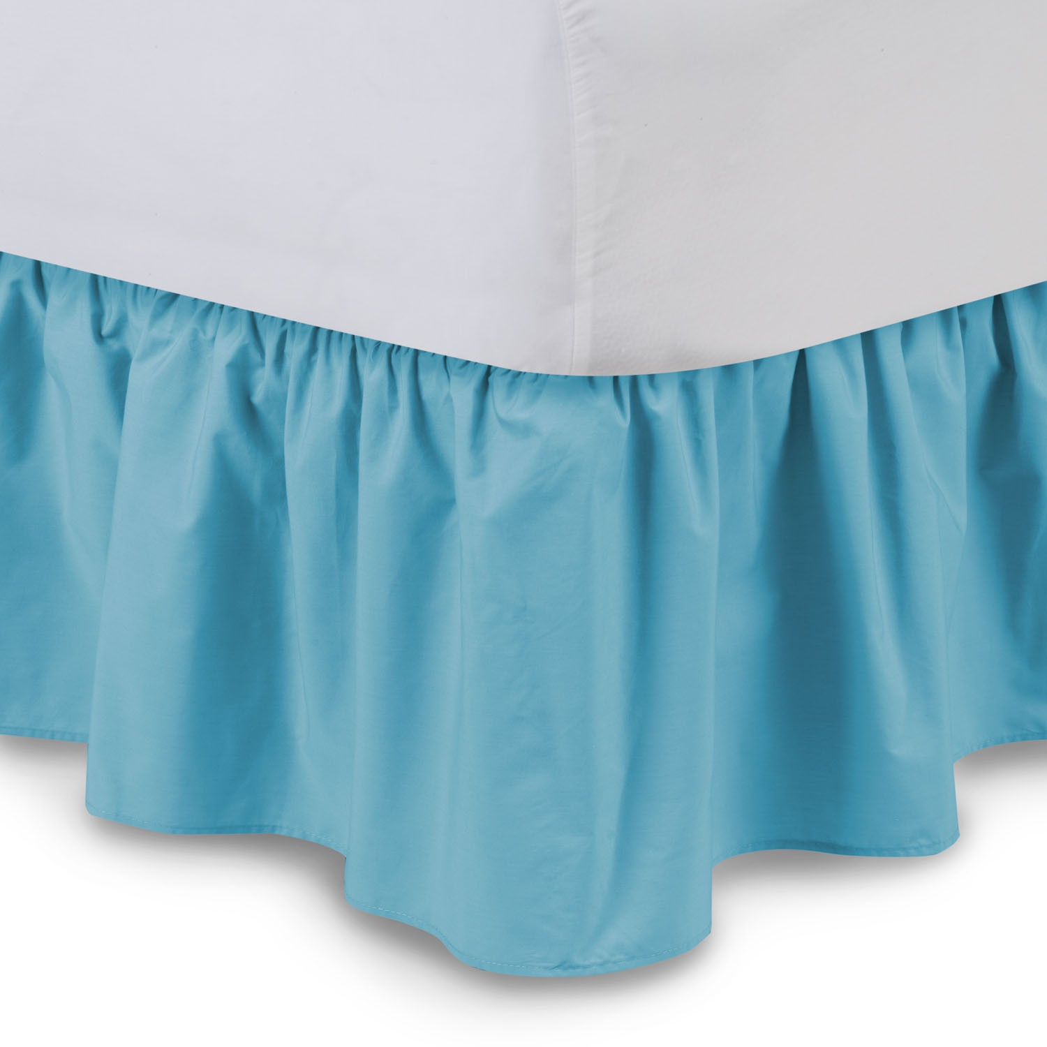 Split King Adjustable Bed Dust Ruffle. Serta Extravagant ... Ruffled