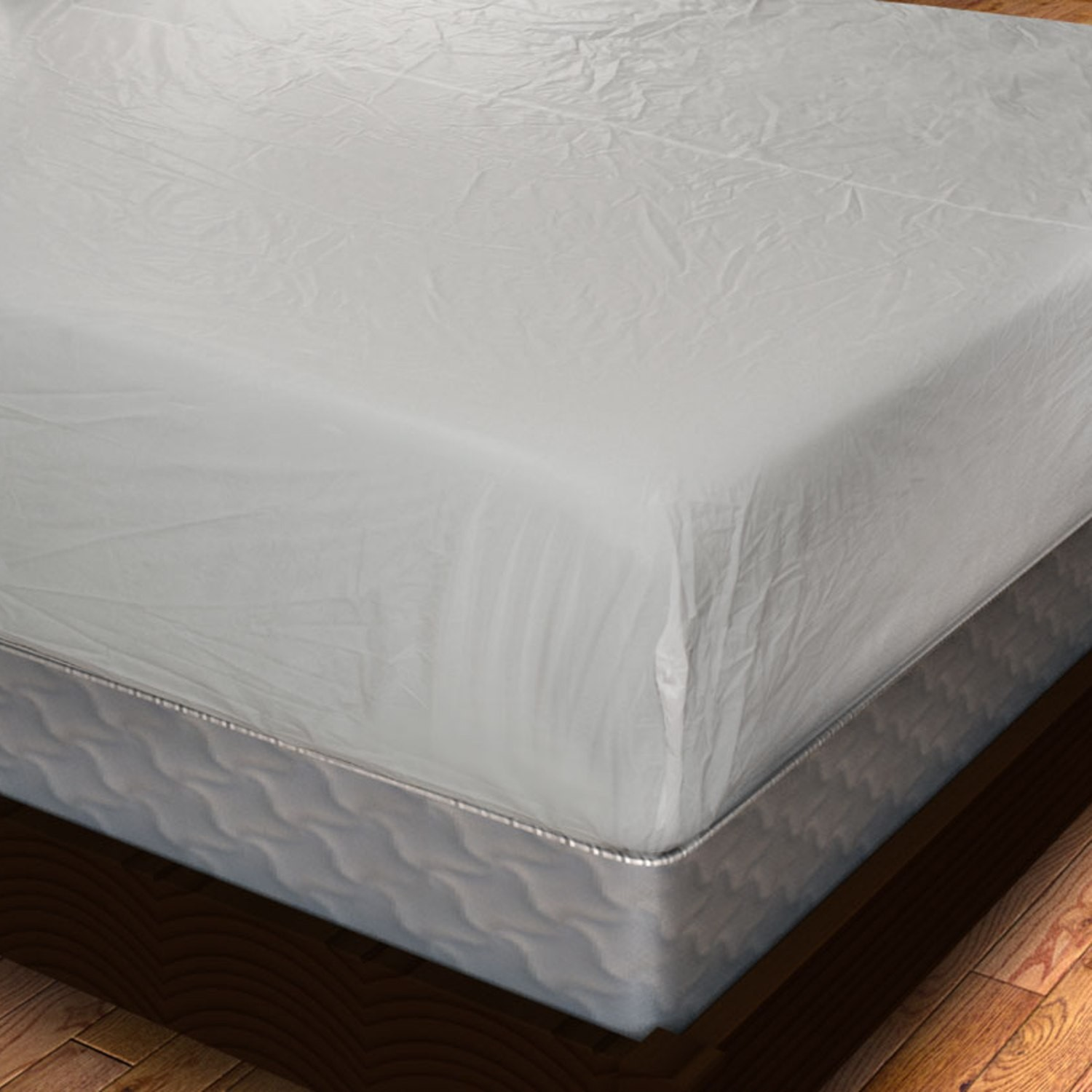 Vinyl Fitted Mattress Cover Heavy Gauge