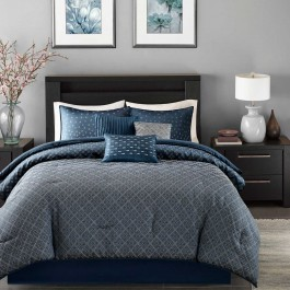Madison Park Biloxi 6-Piece Duvet Cover Set