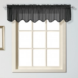 Charleston Sheer Window Valance