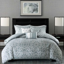 Madison Park Carlow 6-Piece Duvet Cover Set