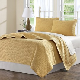 Hampton Hill Cool Cotton Coverlet Set