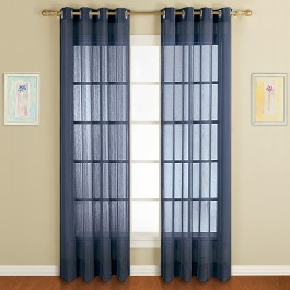 Dakota Semi-Sheer Grommet Top Curtain Panel