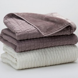 Berkshire Peaceful Pebble Throw Blanket