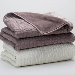 Berkshire Peaceful Pebble Throw Blanket