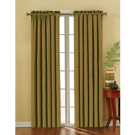 Eclipse Suede Thermaback Blackout Curtain Panel