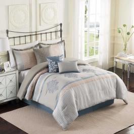 EHS Hamilton 7-Piece Fashion Comforter Set