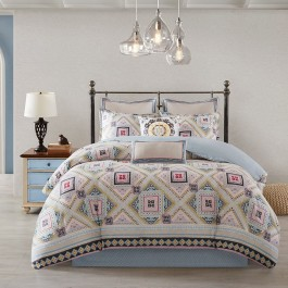Echo Design Ibiza Reversible Comforter Set