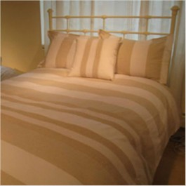Lancaster Pieced Linen 3 pc Mini Duvet Cover Set