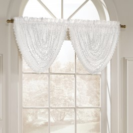 Marilyn Luxurious Macrame Look Waterfall Valance