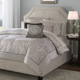 Madison Park Medallion Duvet Cover Set