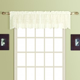 New Rochelle Lace Straight Valance