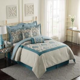 EHS Naples 8-Piece Reversible Comforter Set