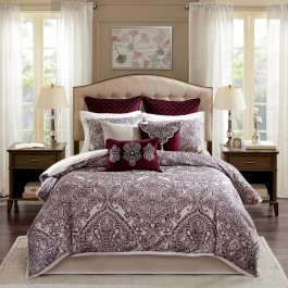 Bombay Patterson Jacquard Bedding Set