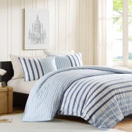 Ink + Ivy Striped Comforter Set