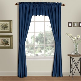 Westwood Solid Pole Top Curtain Panels