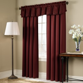 Blackstone Blackout Curtain Panels and Toppers