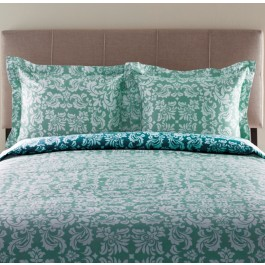 Canterbury Print 300TC Cotton Duvet Cover Set