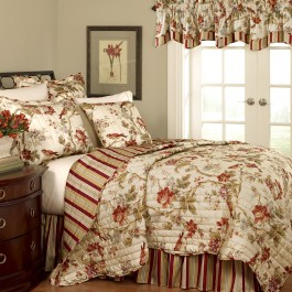 Waverly Charleston Chirp 4pc Quilt Set