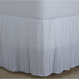 Cheerleader Pleat Bed Skirt