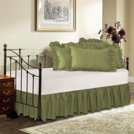 Split Corner Bedskirts Queen & King
