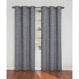 Eclipse Meridian Thermaback Grommet Top Blackout Curtain Panel