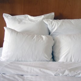Down Alternative 100% Cotton Pillow - 180 Thread-count