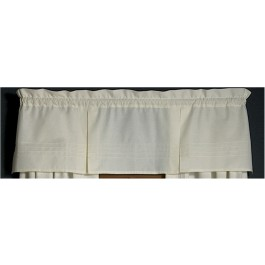 Pin Tuck Pleated Valance