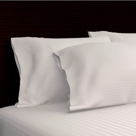 Royal Mystique 300 Thread Count Sateen Stripe Cotton Pillow Case