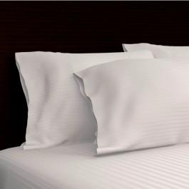 Royal Mystique 300 Thread Count Sateen Stripe Cotton Pillow Case