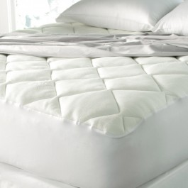 Spa Luxe Cool Touch Bamboo Top Mattress Pad