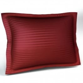300tc Sateen Stripe Pillow Sham