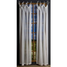 Voile Tie Tab Panel