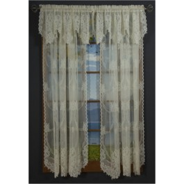 Vanessa Lace Curtain Panel