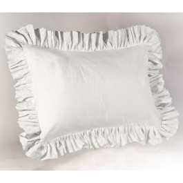 Eyelet Ruffled Pillow Sham
