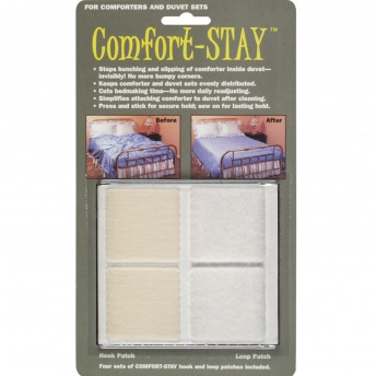 Comforter & Duvet Sets Hook & Loop Patches (Set of 4)