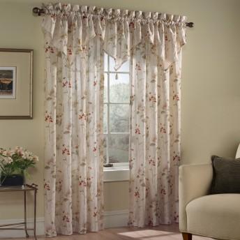 Chantelle Voile Floral Curtain Panel