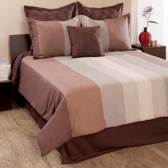 Citadel Stipe 7 pc Comforter Set